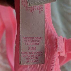 Victoria's Secret Intimates & Sleepwear - Victoria's Secret Padded Demi 32B